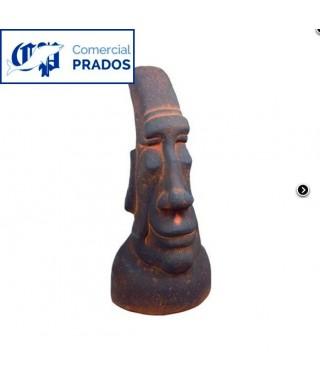 Estatua decorativa Cabeza de Pascua Mediana