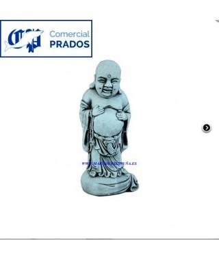 Figura de jardin Buda burlón mediano fabricada en piedra artificial