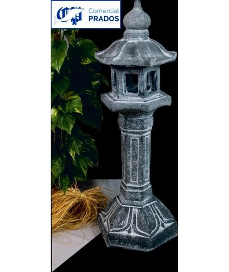 Figura de jardin Farol chino fabricada en piedra artificial