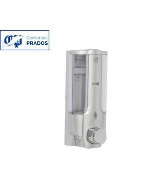 Dosificador de jabón. 0,4l. abs gris.