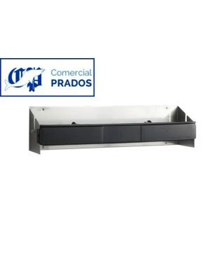 Portabobinas inox para aluminio o film 45 cm