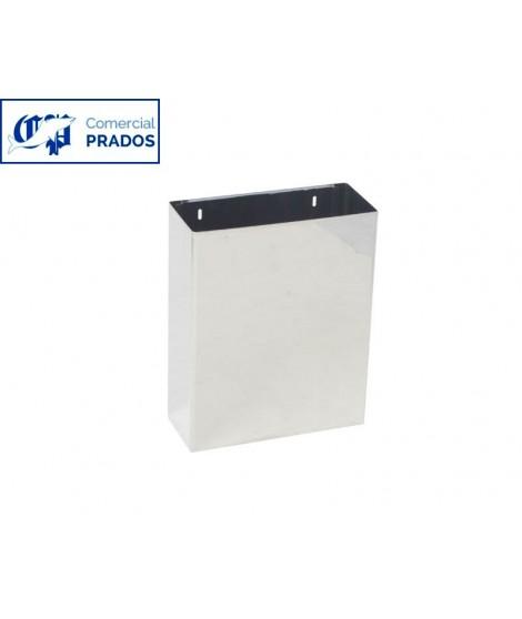 Papelera rectangular 25 lt. brillo.