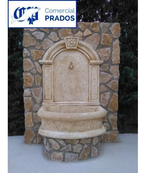 Fuente de margaritas con grifo comercial prados for Fuentes de jardin baratas
