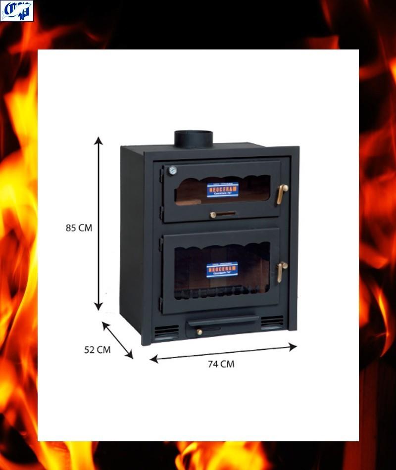 Oferta estufa de le a modelo alpes barata for Estufas de lena ofertas