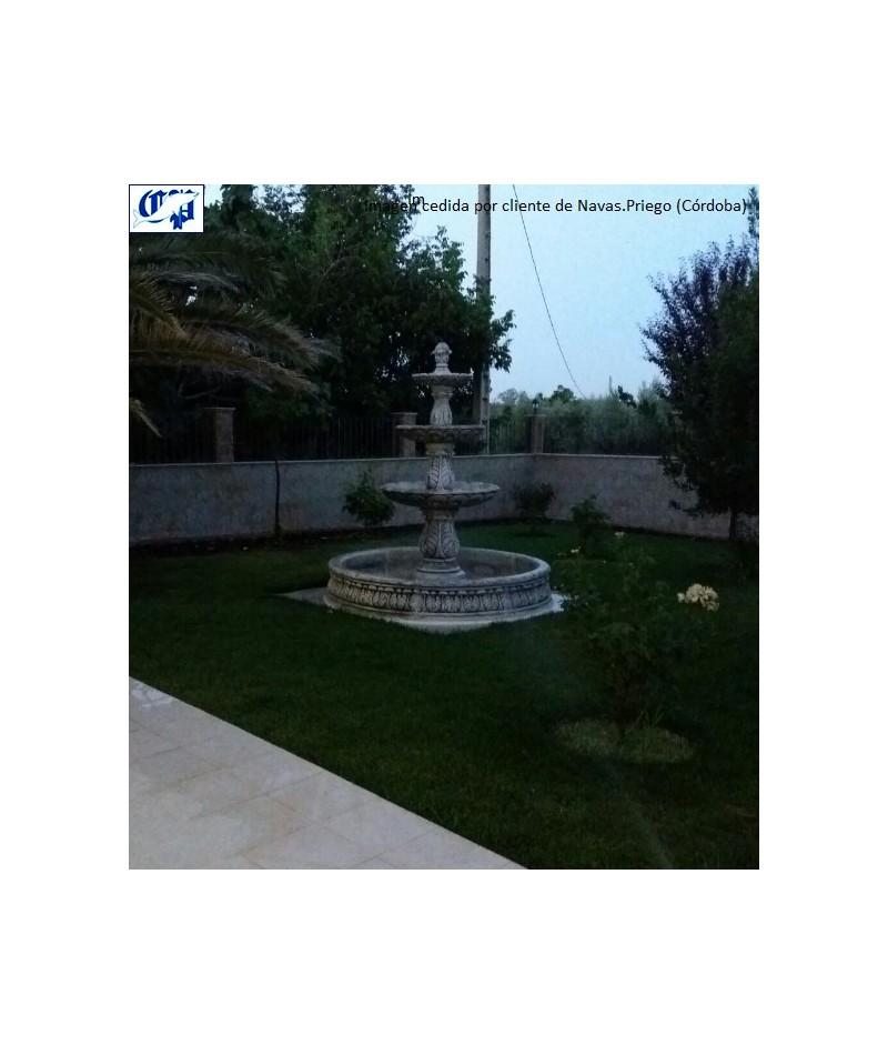 Fuente de jard n modelo florencia comercial prados for Fuentes de jardin baratas