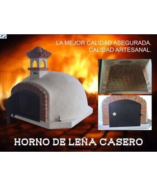 Horno metalico de le a chapa de acero mod mp 2 comercial prados - Horno casero de lena ...