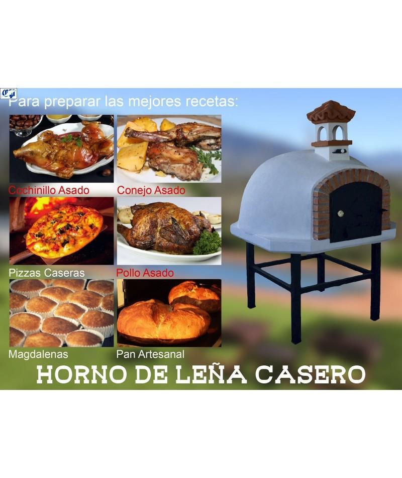 Hornos a lea caseros great como fabricar un horno de lea - Horno de piedra casero ...