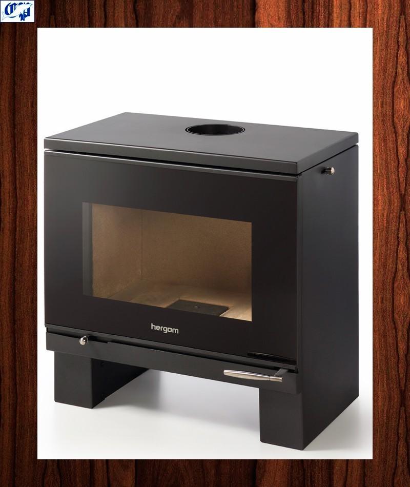 Estufa de acero interior refractario hergom frama m - Estufas para interior ...
