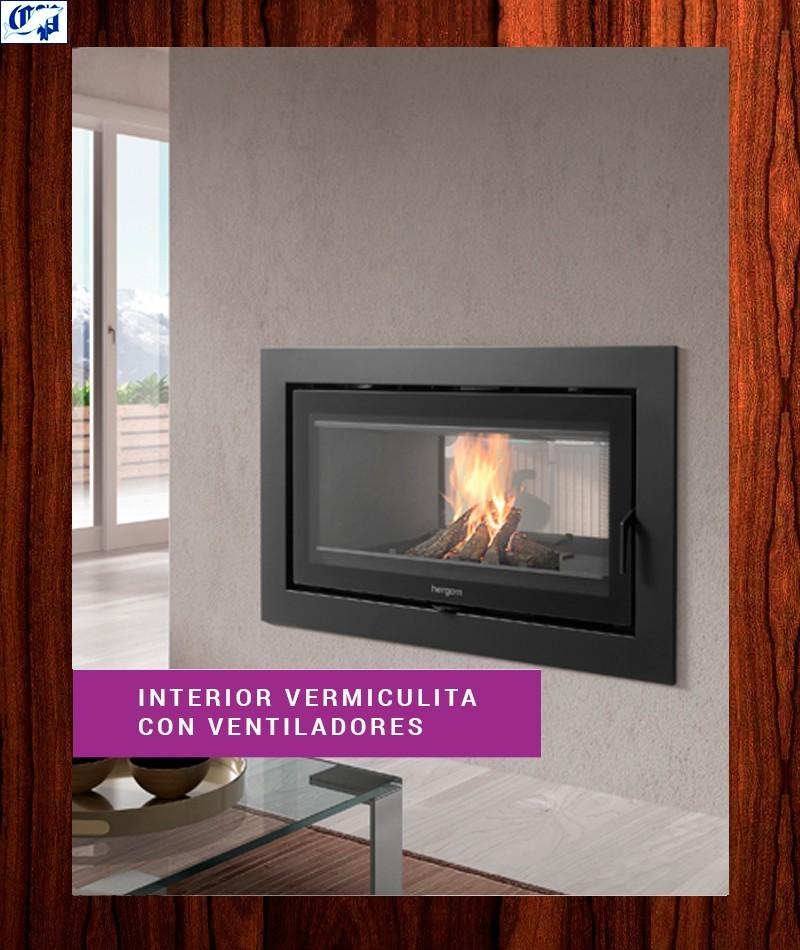 Cassette chimenea sere 100 2c f hergom 2010974 - Chimeneas con cassette ...