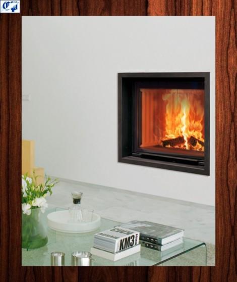 Hogar chimenea insertable de leña STILKAMIN S-600 - hergom