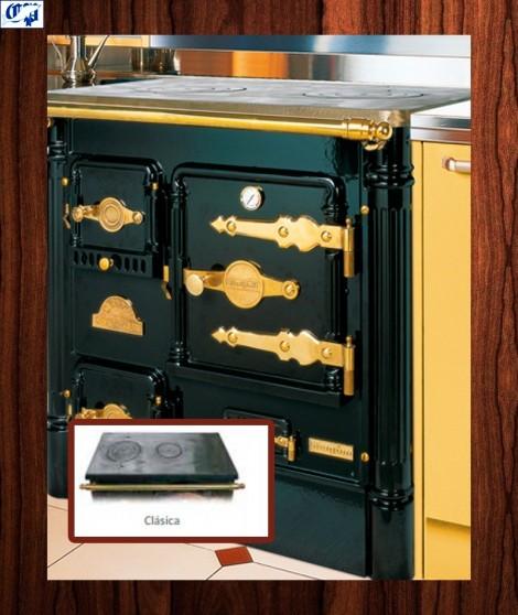 Cocina serie L07  Encimera clásica  Hergom