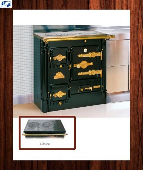 Cocina con encimera clasica latón L-07 CH Hergom - 517010