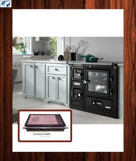 Cocina con encimera pulifer SAJA 8 Hergom -918425