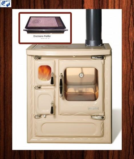 Cocina color crema modelo cerrado DEVA II 75 Hergom - 516462