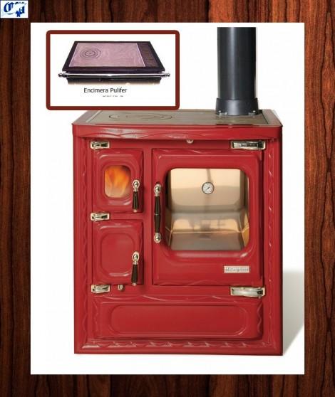 Cocina color burdeos modelo cerrado DEVA II 75 Hergom -516394