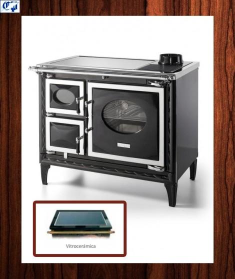Cocina VITRO NANSA II Hergom - 516328, color negro