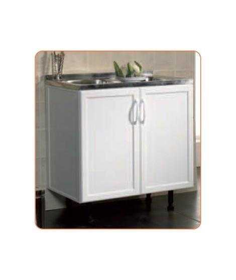 mueble fregadero de aluminio comercial prados