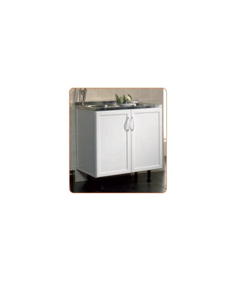 Mueble fregadero de aluminio comercial prados - Fregaderos de aluminio ...