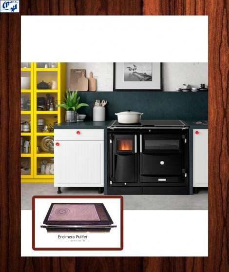 Cocina calefactora vitro practicable PAS Hergom - 560050
