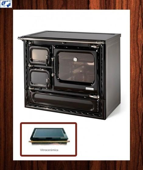 Cocina calefactora modelo cerrado DEVA 100 N - 516482