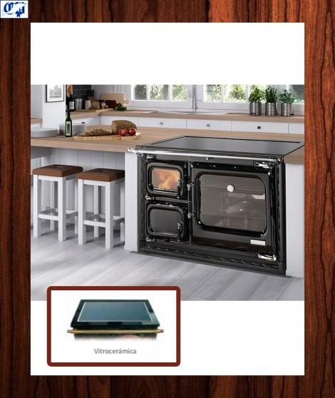 Cocina calefactora modelo cerrado DEVA 100 ISLA - 516492