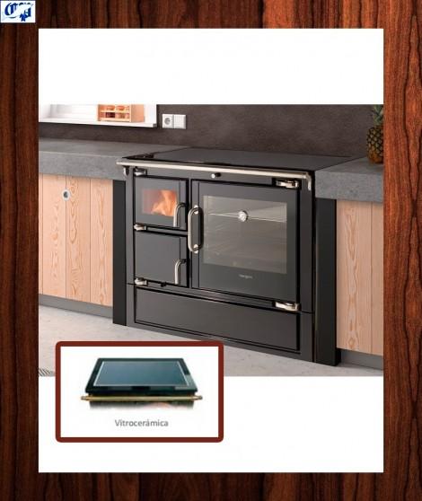 Cocina calefactora modelo cerrado ECLECSYS Hergom - 530020
