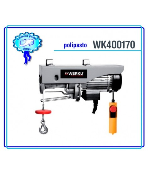 WK400170 Polipasto Cable 400kg 750W