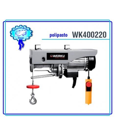 WK400220 Polipasto Cable 600kg 1050W