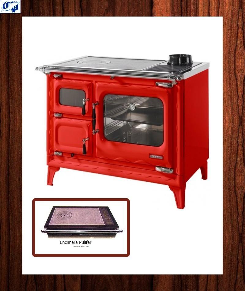 Cocina le a color burdeos modelo cerrado deva ii 100 - Cocinas color burdeos ...