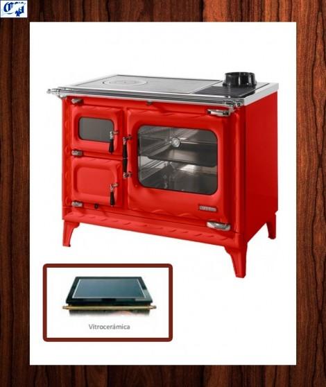 Cocina vitro color burdeos modelo cerrado deva ii 100 - Cocinas color burdeos ...