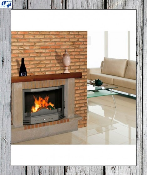 Cassete chimenea de fundici n prisma 730 ferlux for Chimeneas de fundicion