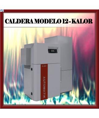 Caldera automát MODELO 12 Kalor, burdeos