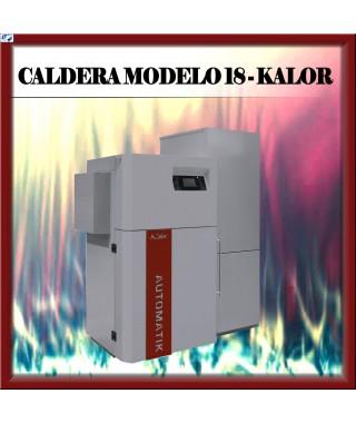 Caldera automátic MODELO 18 Kalor, burdeos