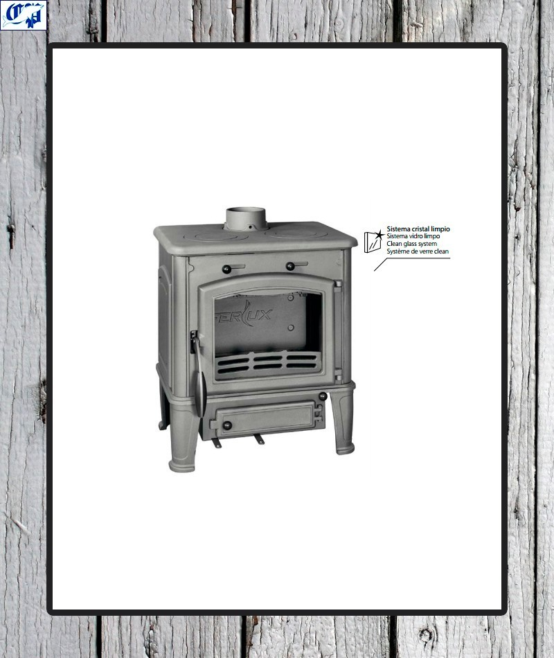Estufa de le a ferlux c cocina peque a comercial prados - Foto estufa ...