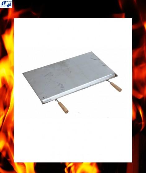 Plancha para chimenea