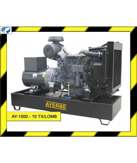 GENERADOR LOMBARDINI DIESEL - AY-1500-10 TX/LOMB ESTANDAR- AYERBE