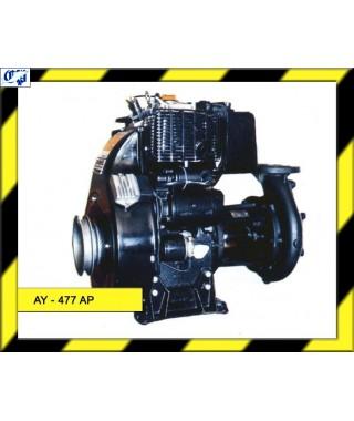 MOTOBOMBA LOMBARDINI DE PRESION DIESEL - AY-477 AP - AYERBE
