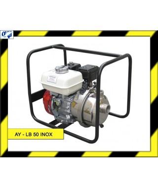MOTOBOMBA LOMBARDINI LIQUIDOS ESPECIALES AUTOASPIRANTE - AY-LB 50 INOX - AYERBE