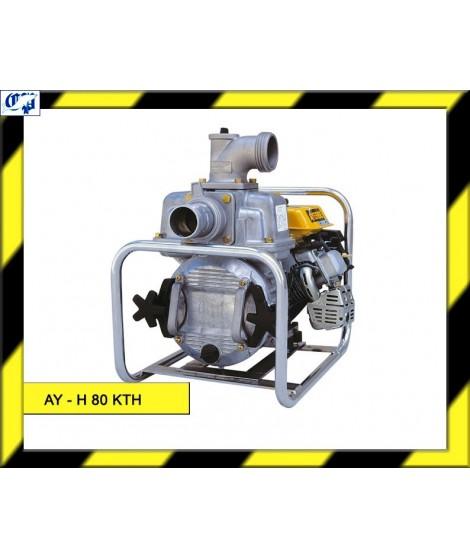 MOTOBOMBA HONDA CONSTRUCCION AUTOASPIRANTE AGUAS SUCIAS - AY-H 80 KTH - AYERBE