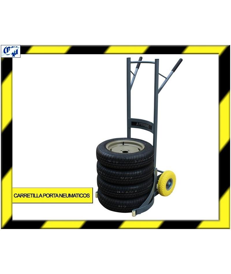 Carretilla de carga porta neumaticos ayerbe comercial - Carretillas de carga ...