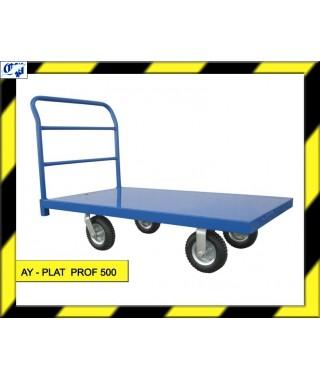 CARRO PLATAFORMA - AY- PLAT PROF 500 - AYERBE
