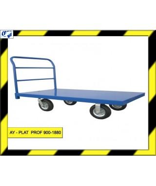 CARRO PLATAFORMA - AY- PLAT PROF 900-1880 - AYERBE