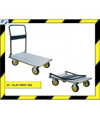 CARRO PLATAFORMA - AY- PLAT PROF 250 - AYERBE