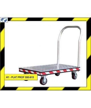 CARRO PLATAFORMA - AY- PLAT PROF 550-915 - AYERBE