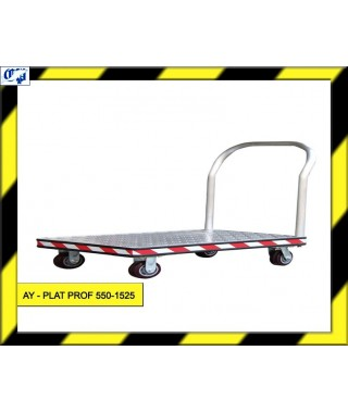 CARRO PLATAFORMA - AY- PLAT PROF 550-1525 - AYERBE