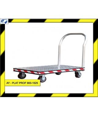 CARRO PLATAFORMA - AY- PLAT PROF 900-1525 - AYERBE