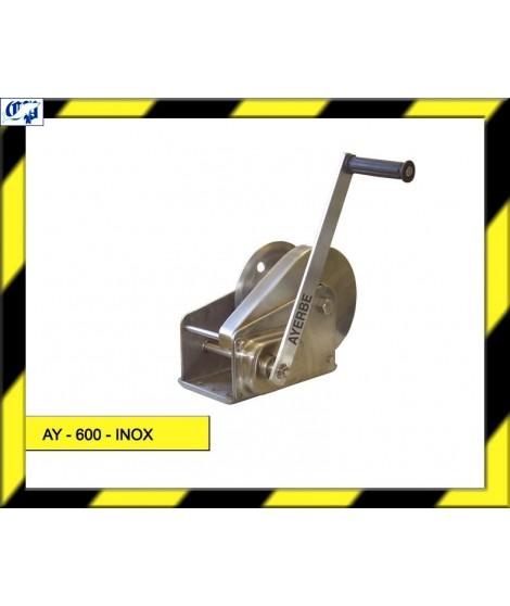 CABRESTANTE AY - 600 - INOX. AYERBE