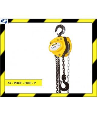 POLIPASTO DE CADENA - AY - PROF - 3000 - P - AYERBE