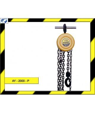 POLIPASTO DE CADENA - AY - 2000 - P - AYERBE