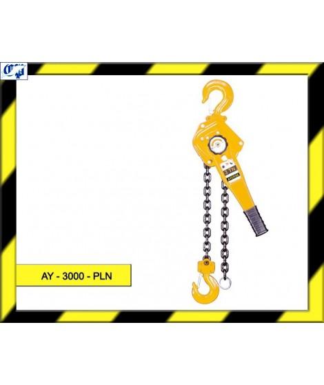 POLIPASTO DE PALANCA AY - 3000 - PLN AYERBE